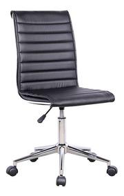 Cadeira De Escritório Secretária Giratória Marilyn Plus P...