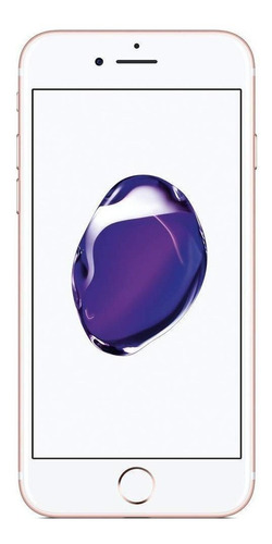 Celular Smartphone Apple iPhone 7 256gb Rosa - 1 Chip