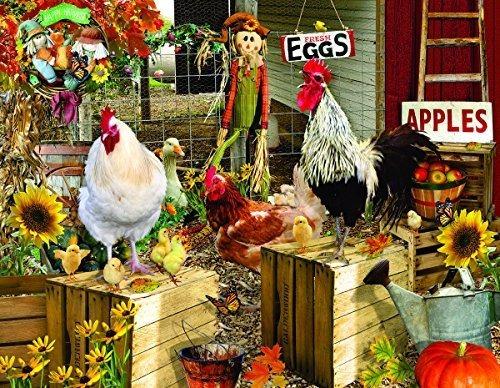 Chickens On The Farm Puzzle De 1000 Piezas Por Sunsout