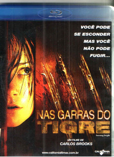 Bluray Nas Garras Do Tigre - Original - Frete 10,00