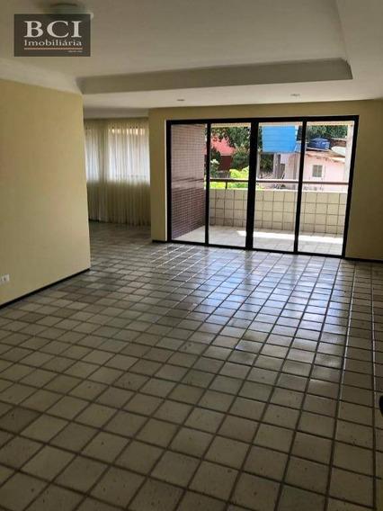 Apartamento Para Alugar, 240 M² Por R$ 2.900,00/mês - Santana - Recife/pe - Ap3702
