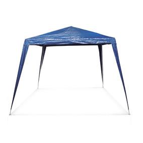 Tenda Gazebo Montavel 2,40x2,40 Azul Iwgzm-240az Importway