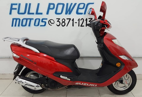 Suzuki Burgman 125i Vermelha 2012