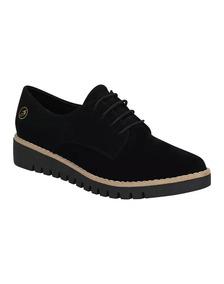 Zapato Cerrado Mujer My Clasben Negro Tipo Nobuk 160475