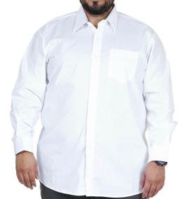 Camisa Social Masculina Para Gordo Tamanho Grande Microfibra