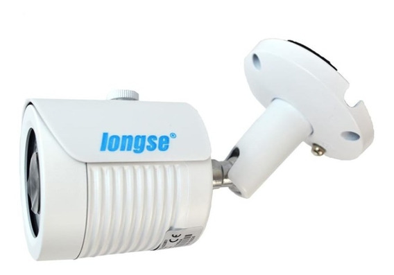 Camara Ip 4mp Longse Bullet Poe 3.6mm Ir 25m Exterior Metal