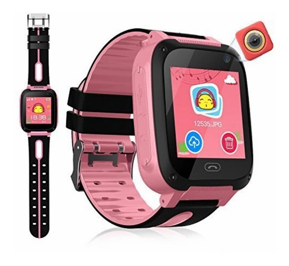 Relógio Infantil Rastreador Localizador C/câmera Pronta Entr