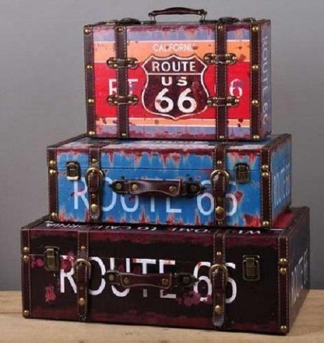 Imagen 1 de 6 de Baules De Madera - Set X 3 -varios Modelos