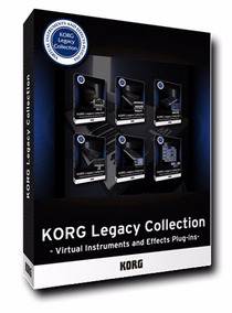 Korg Legacy Collection Coleção Completa!!! Windows E Mac