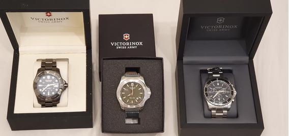 Lote Relógios Victorinox I.n.o.x Excelente Estado
