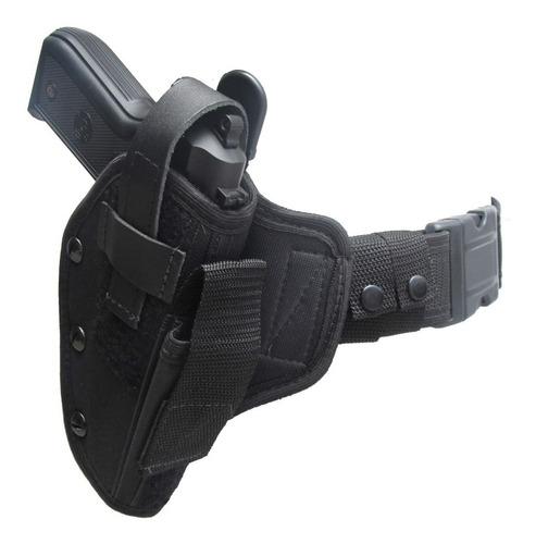 Coldre Tatico De Cintura Padrão Em Nylon Pistola Ou Revolver