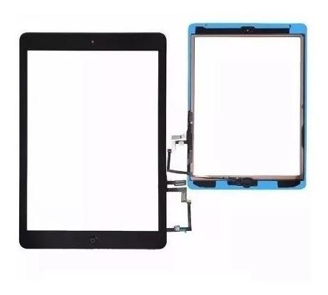 Tela Visor Vidro Touch Screen Apple iPad Air 2013 9.7 Polegadas A1474 A1475 A1476 Preto