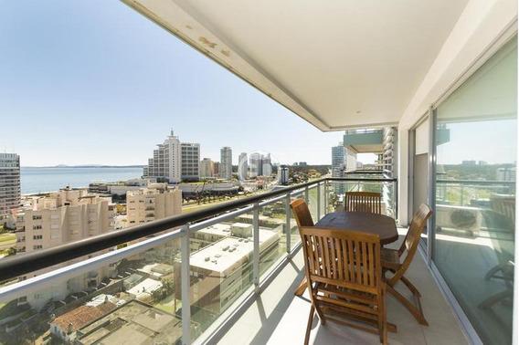 Alquiler Apartamento 2 Dormitorios Con Parrillero Punta Del Este