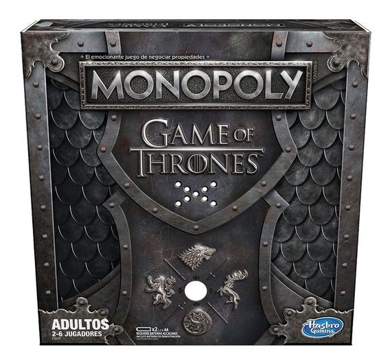 Juego De Mesa Monopoly Game Of Thrones Adultos Hasbro