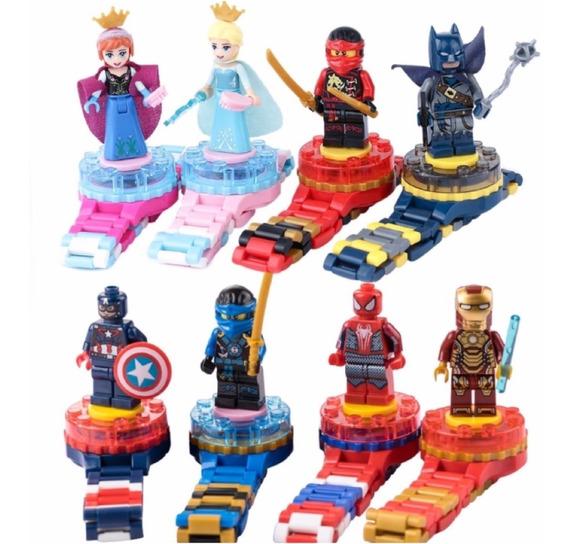 Reloj Infantil Superheroes Y Princesas