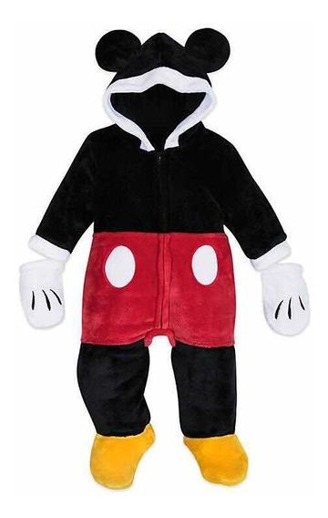 Traje Mameluco De Mickey Mouse P/ Bebé Original Disney Store