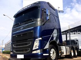 Caminhão Cavalo Volvo Fh 540 6x4 2016 Globetrotter I-shift