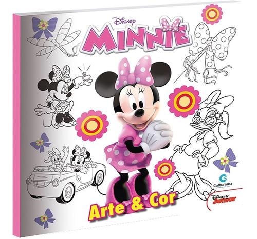 Imagem 1 de 1 de Livro Para Colorir Infantil Arte Minnie  Editora E Pt 1 Un