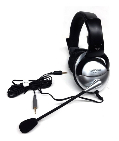 Headset Fone De Ouvido Com Microfone Koss Sb45