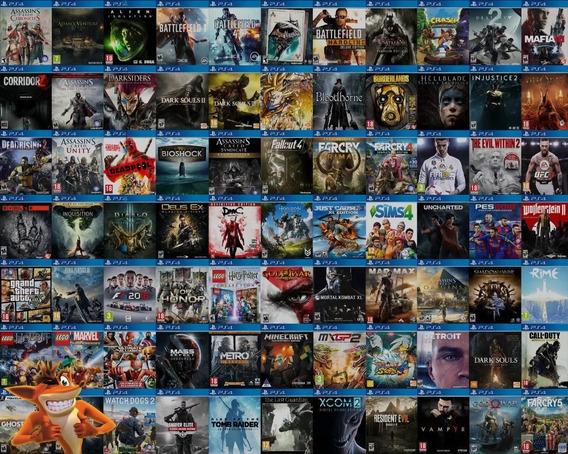 340 Jogos Do Ps4 Você Escolhe