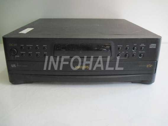 Aparelho Cd Player Philips Cdc265 No Estado