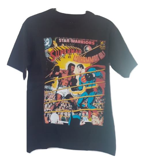 Remera Superman Ali Superheroes L88