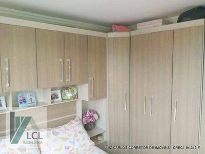 Apartamento Com 2 Dormitórios À Venda, 48 M² Por R$ 169.900 - Parque Jane - Embu Das Artes/sp - Ap0076