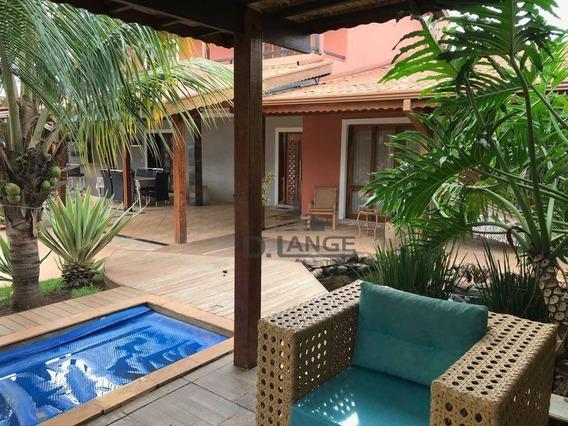Casa Com 4 Dormitórios À Venda, 450 M² Por R$ 1.000.000,00 - Residencial Marieta Dian - Paulínia/sp - Ca13513