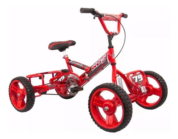 Cuatriciclo Gigante Extreme Suspension Pedal Niños 5-10 Años