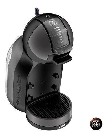 Máquina Café Expresso Dolce Gusto Arno Mini Preta Dmm0