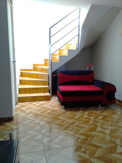 Casa De 2 Pisos Techados Material Noble Recién Construido.