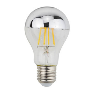 Lampara Led Bulbo Decoshade 4w Cromo Calido E27