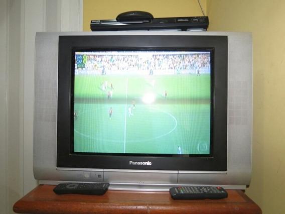 Tv Panasonic 21 Polegadas Tela Plana ( Tubo )