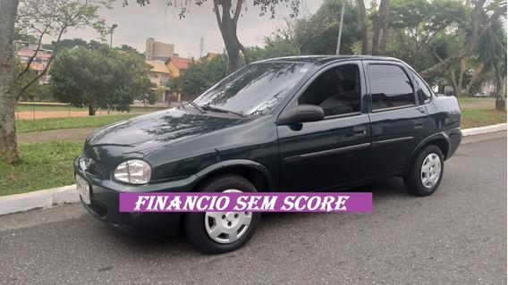 Corsa Sedan 2001 Somente 1000 De Entrada Financio Sem Score