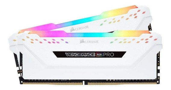 Memória RAM 32GB 2x16GB Corsair CMW32GX4M2C3200C16W