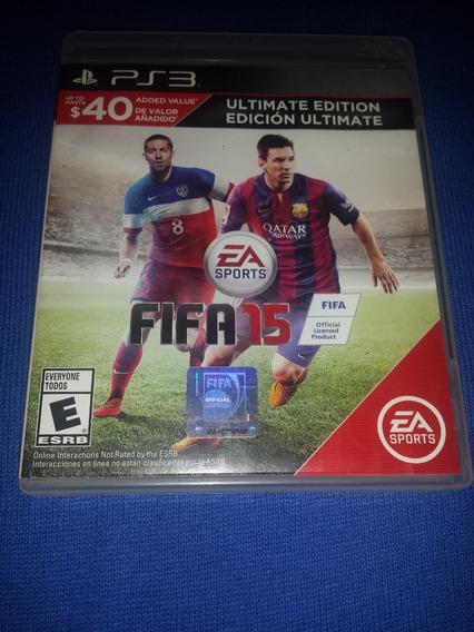 Fifa 15 Ultimate Edition Ps3 Frete R$10