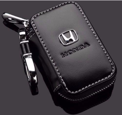 Capa Chave De Couro Honda Civic Hr-v Cr-v Wr-v Accord Fit