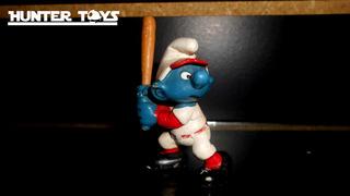 Pitufos, The Smurfs, Beisbol, Figura, Peyo, Tel.51393109