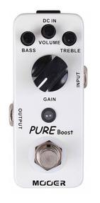 Pedal Mooer Pure Boost | Gain | Para Guitarra