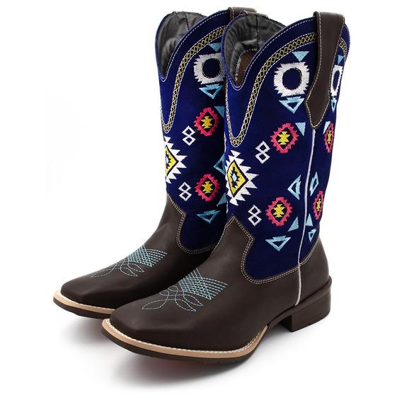 Bota Texana Americana Feminina C/ Brindes Lançamento Nova