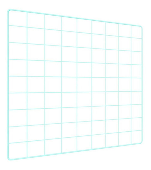 Memory Board Quadro De Fotos Verde Água 6 Mini Prendedores