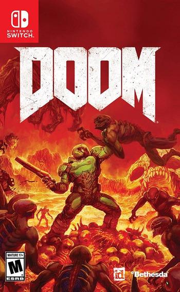 Doom Nintendo Switch Mídia Física Lacrado