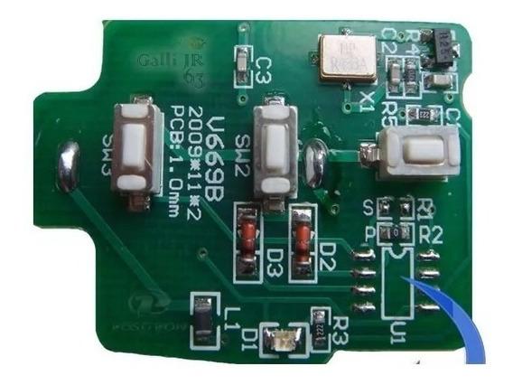 Placa Para Chave Canivete Alarme Flex Positron 293/300
