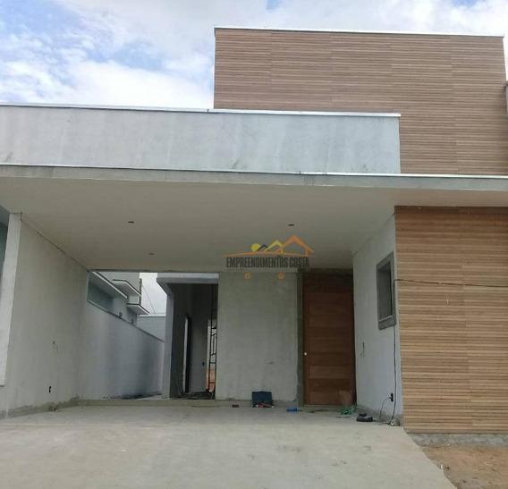 Casa Com 3 Dormitórios À Venda, 190 M² Por R$ 950.000 - Condomínio Reserva Saint Paul - Itu/sp - Ca1504