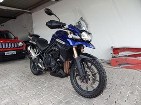 Triumph Explorer 1200 2014 Azul Gasolina