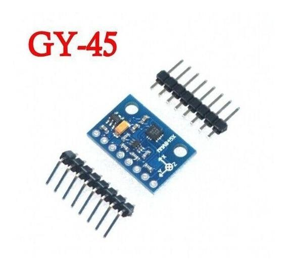 Módulo Gy-45 Mma8452 Acelerômetro Triaxial Inclinação