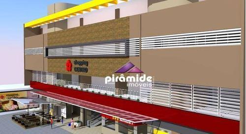 Loja À Venda, 98 M² Por R$ 480.000,00 - Centro - São José Dos Campos/sp - Lo0027