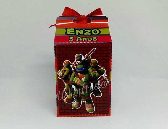 Caixa Milk Tartaruga Ninja C/20{ushop Festas}.