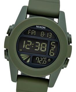 Reloj Nixon Unit A1971085 Surplus 10bar Cronografo Temperatura Envio Gratis Watch Fan Locales Palermo Y Saavedra