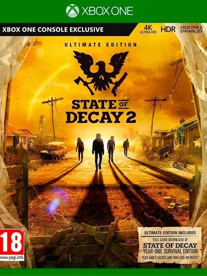 State Of Decay 2 Edição Suprema Xbox One Online + Brinde